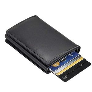 Other - NEW Leather Men's Wallet RFID Blocking (Black)